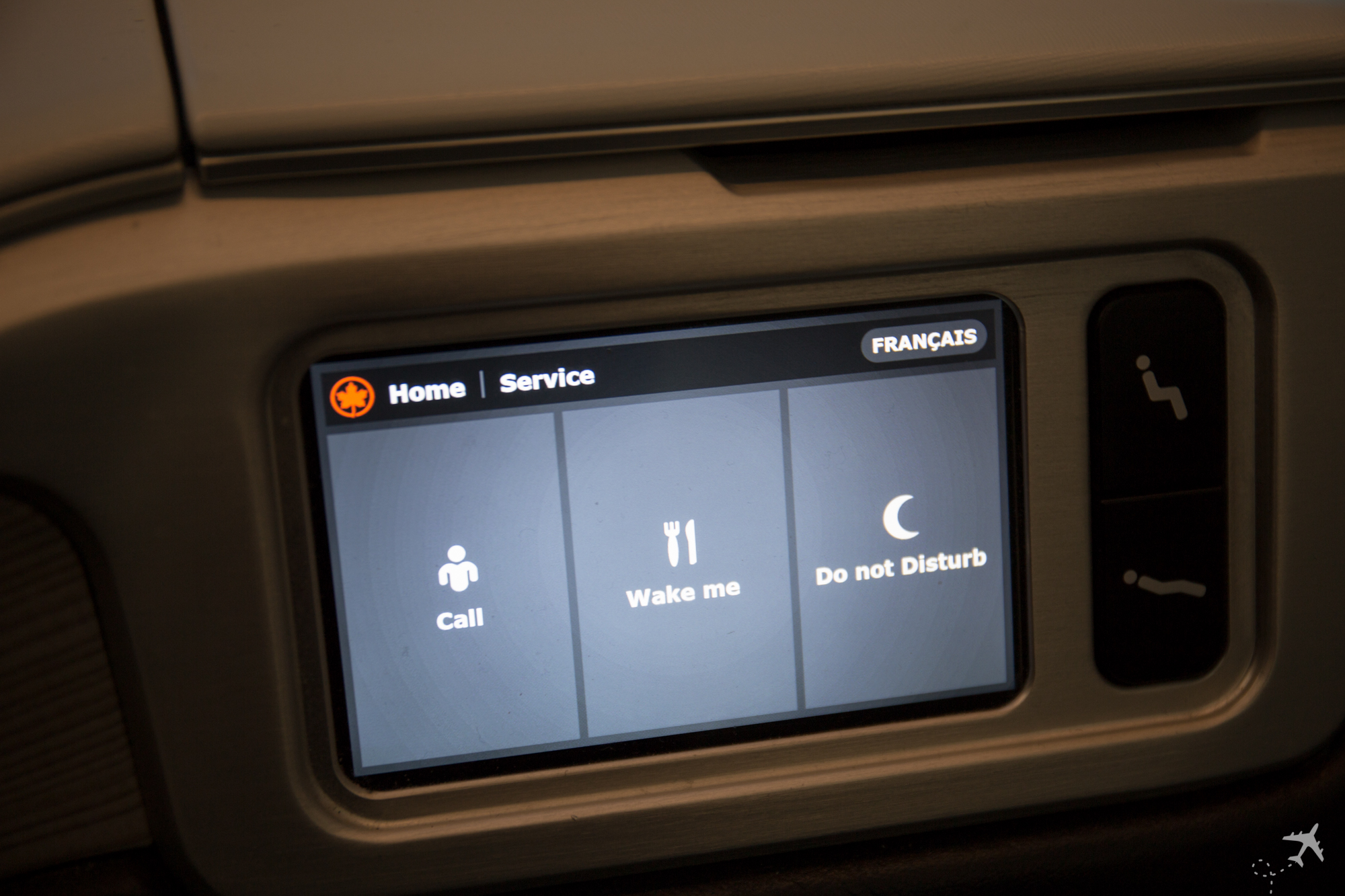 Air Canada Boeing 787-9 Business Class Control Service