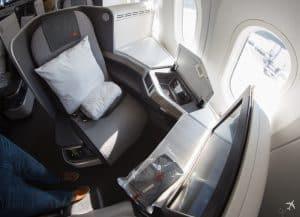Air Canada Boeing 787-9 Business Class Sitz Vorne