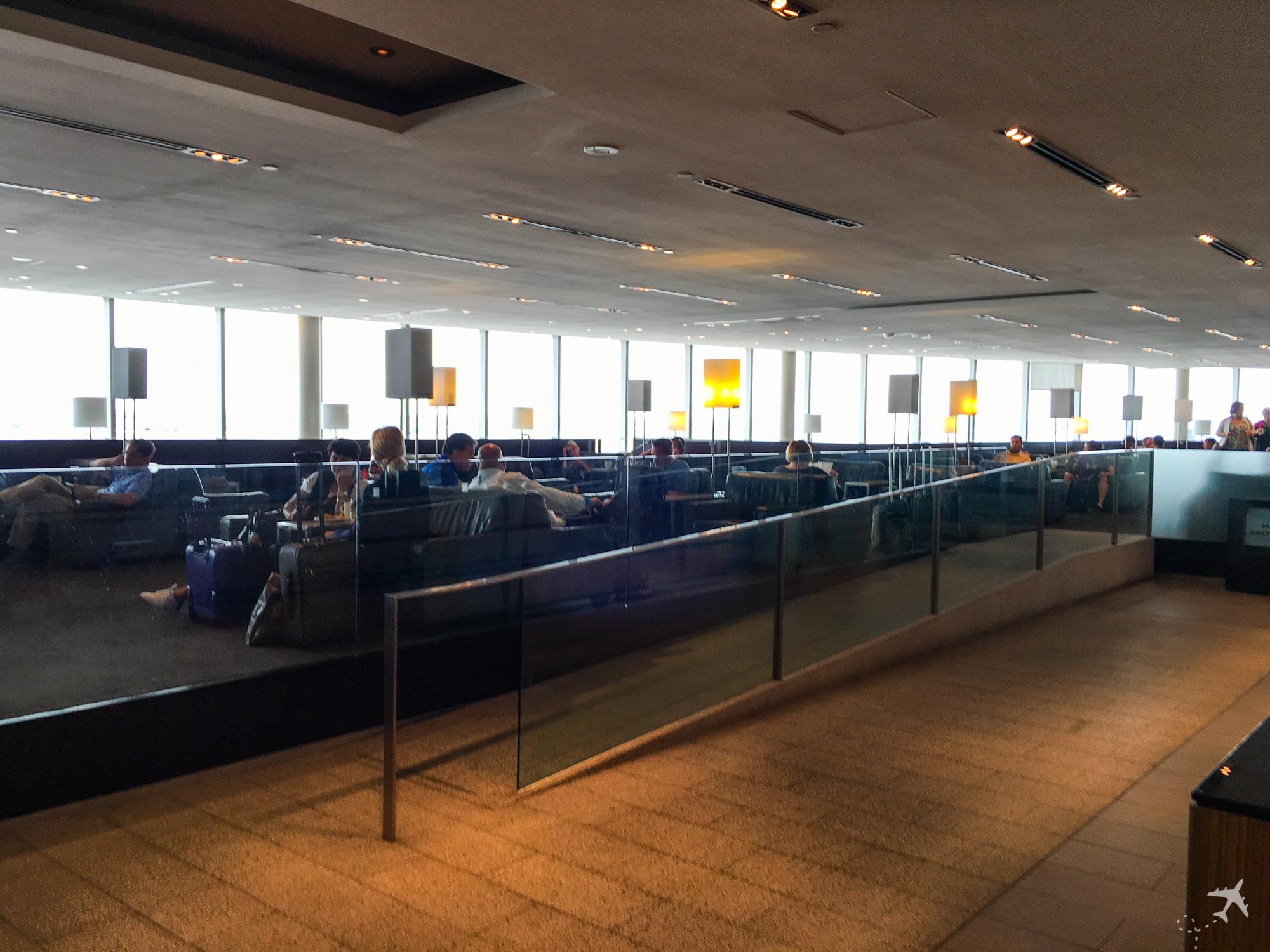 Air Canada Maple Leaf Lounge Toronto Sitze