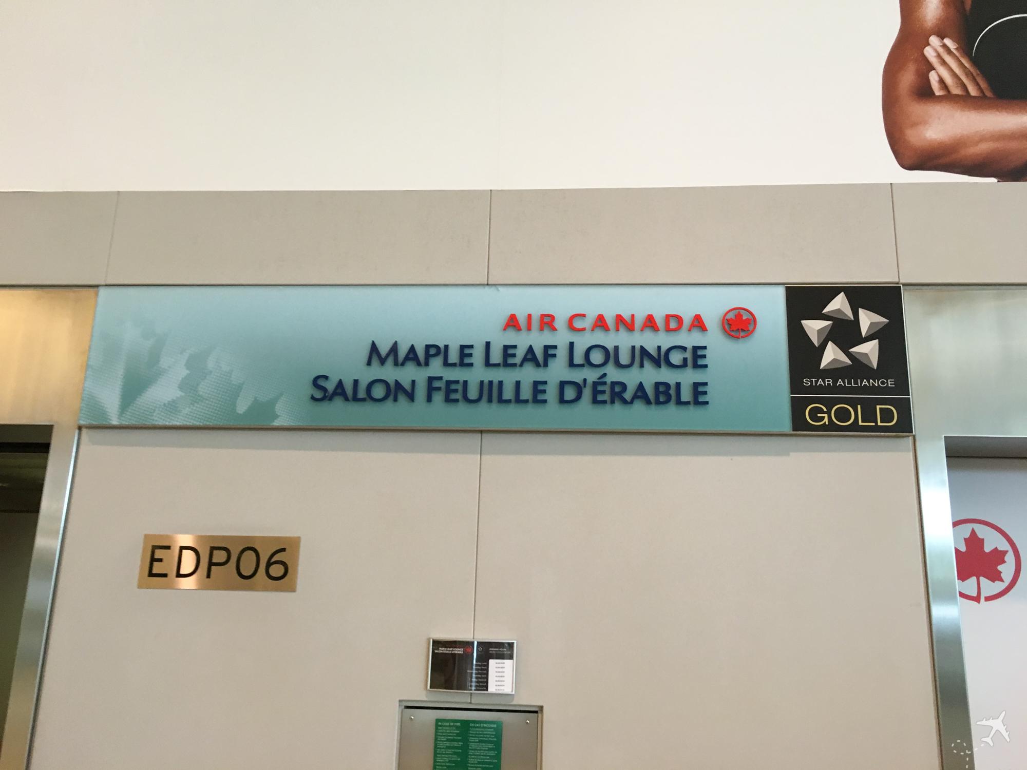 Air Canada Maple Leaf Lounge Toronto