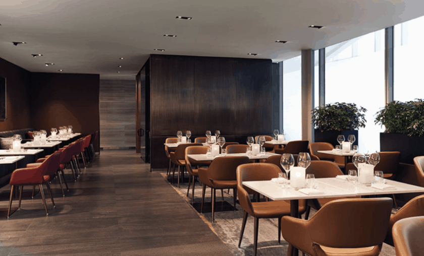 Air Canada Signature Suite Restaurant