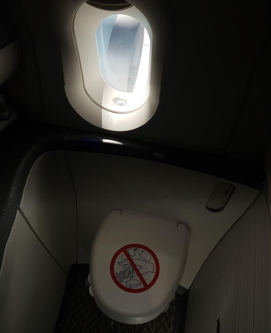 Air Canada Toilette