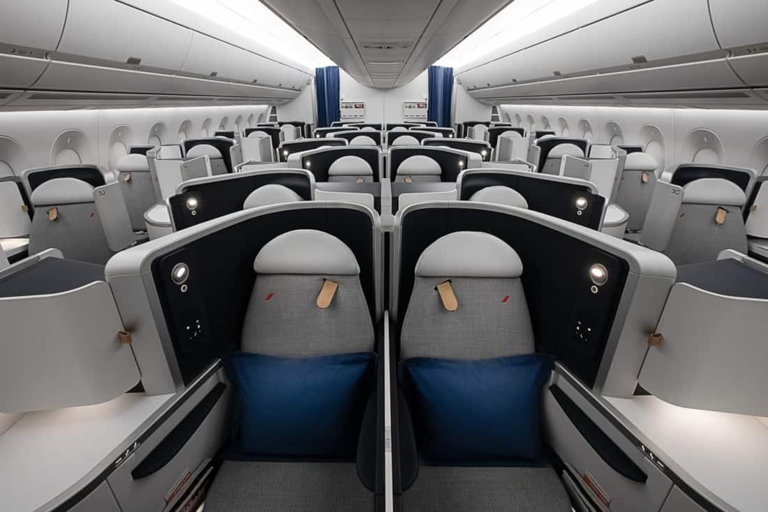 Air France Business Class Airbus A350