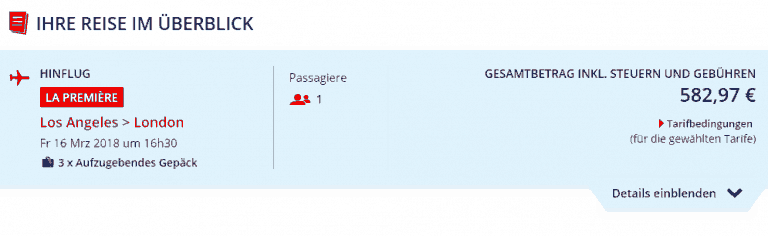 Air France Error Fare LAX-LON Deutschland