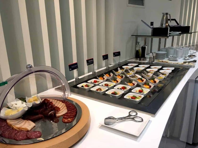 Air Serbia Lounge Buffet 4