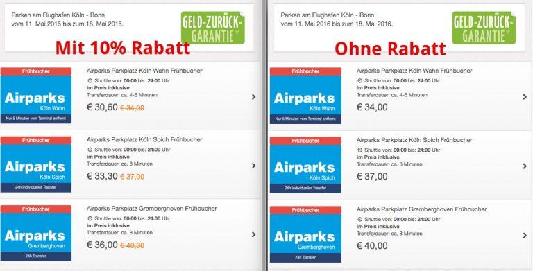 AirParks 10% Gutschein