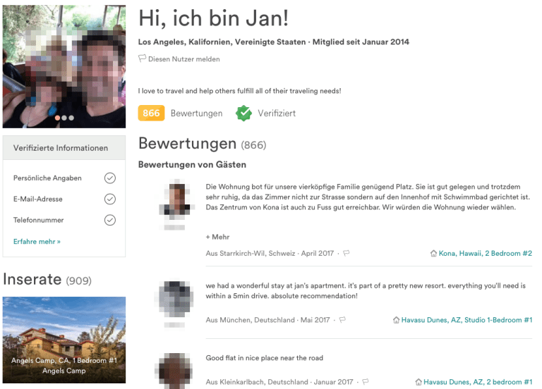 Airbnb Megahost Jan