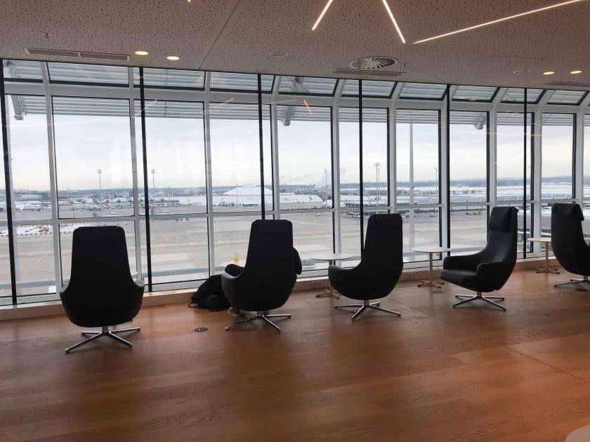 Airport Lounge MUC Ausblick