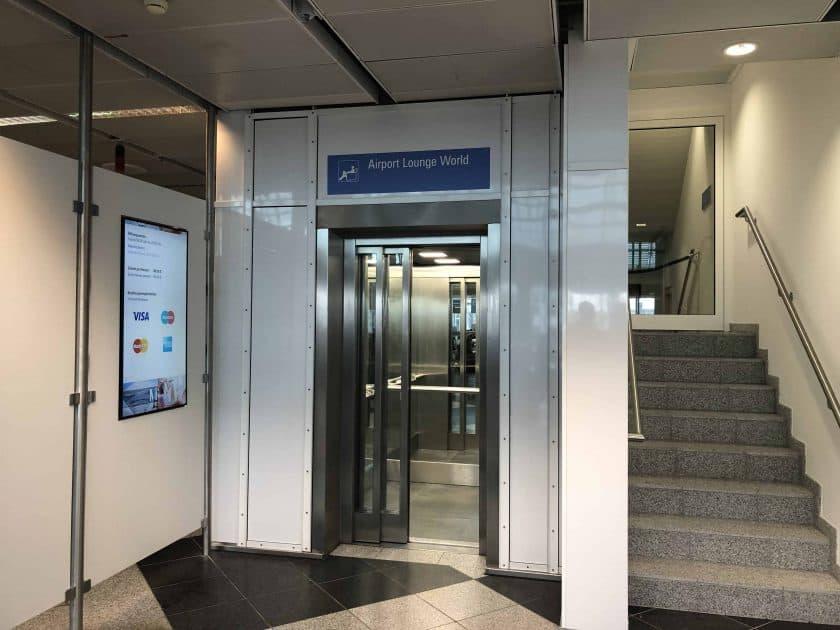 Airport Lounge MUC Eingang