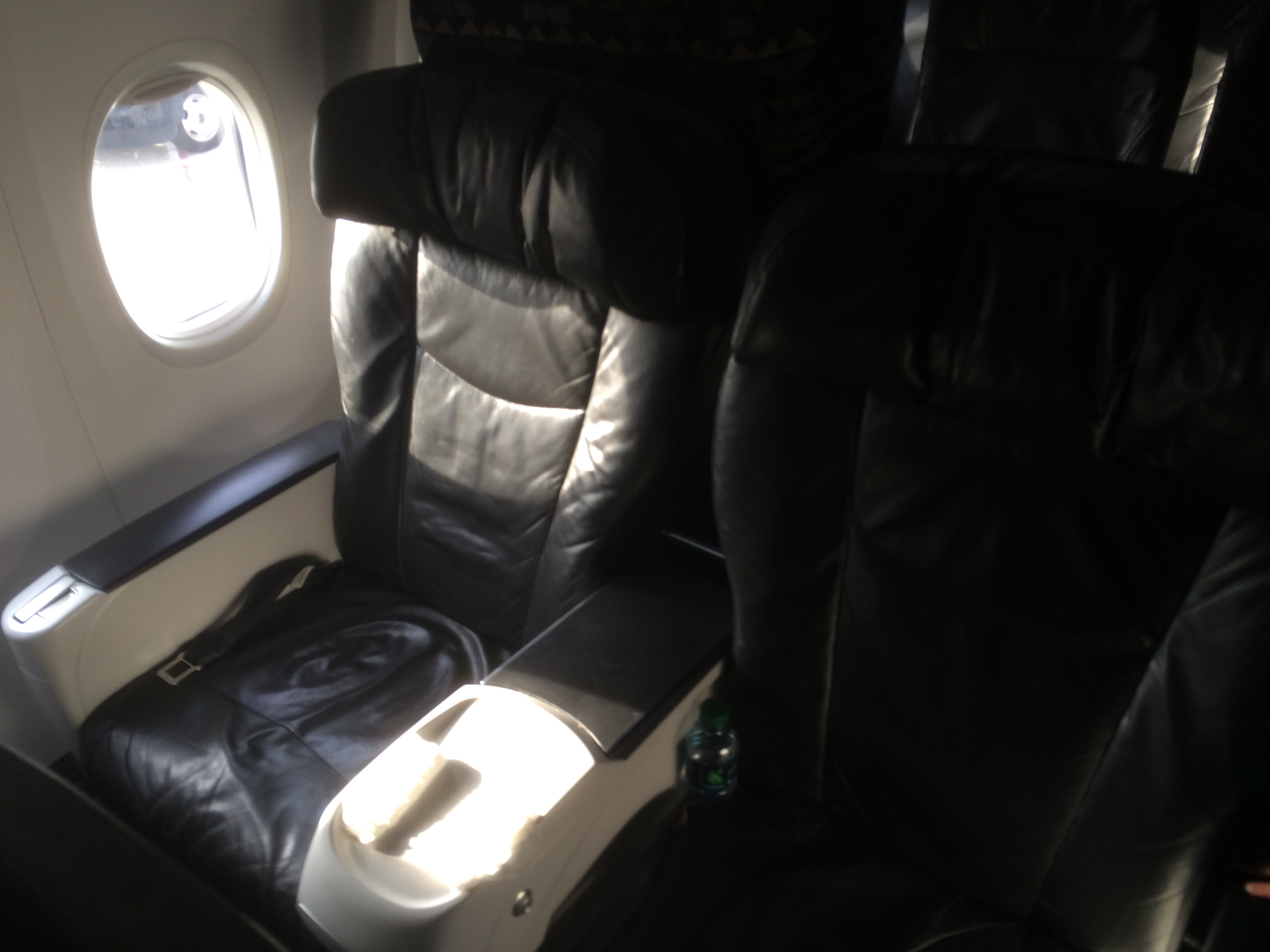 Alaska Airlines First Class