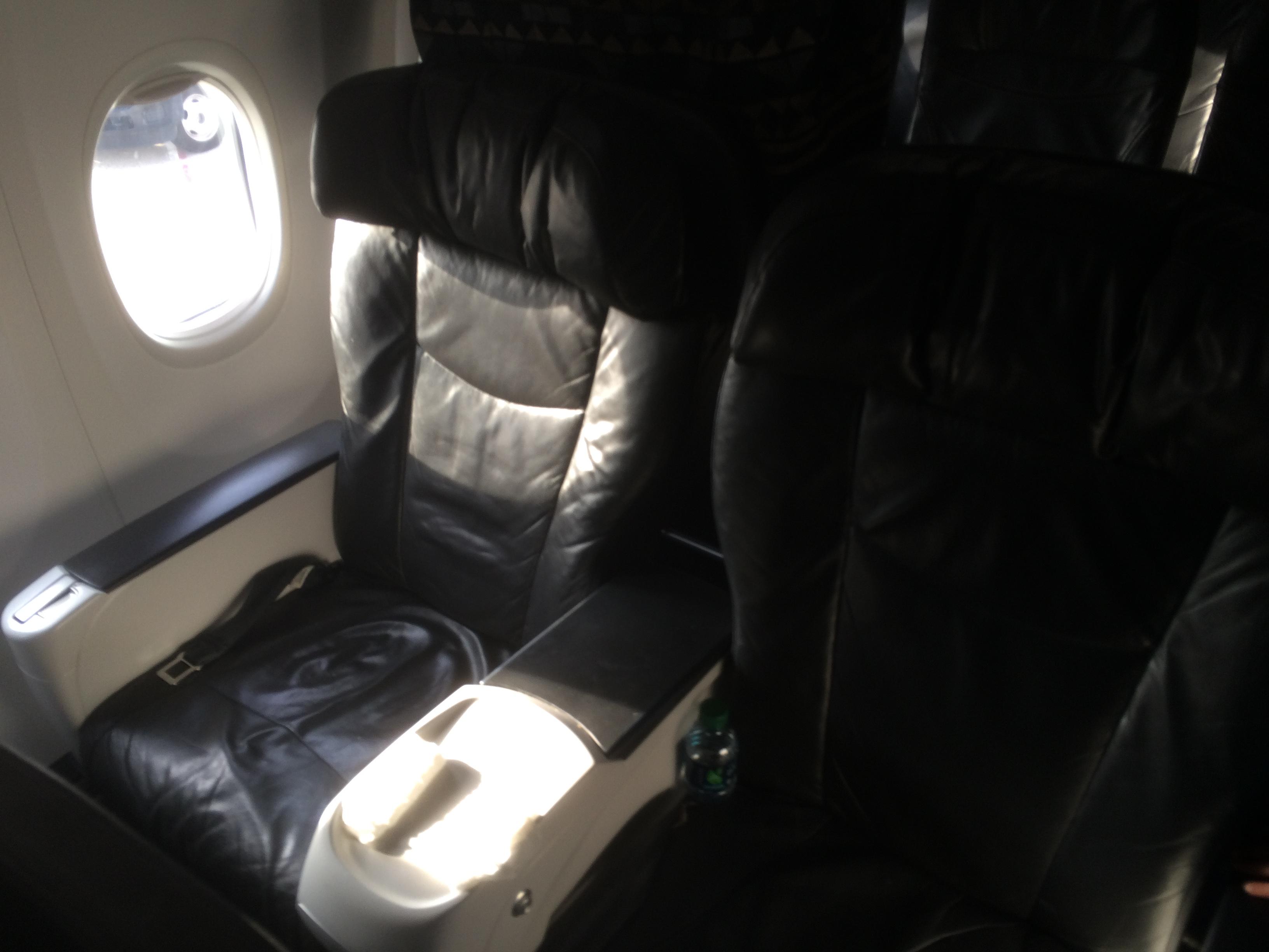 Alaska Airlines First Class