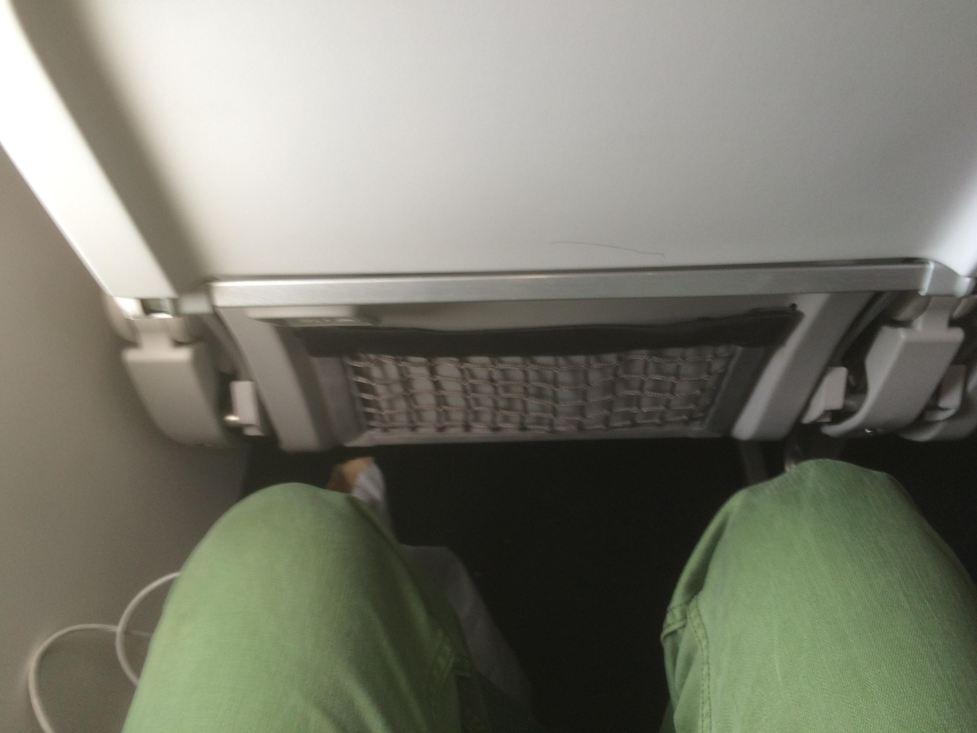 Alaska Airlines Sitzabstand