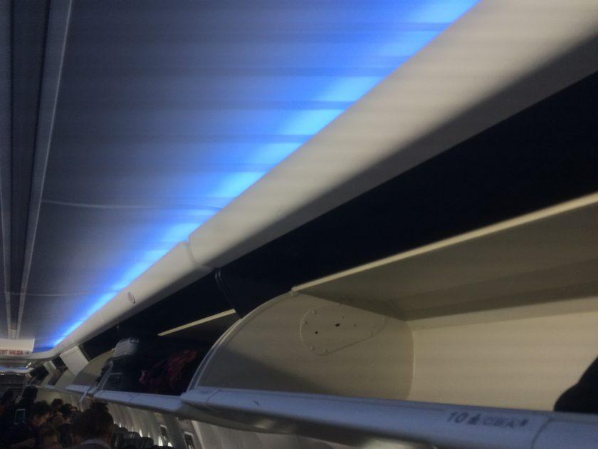 Alaska Airlines Sky Interior