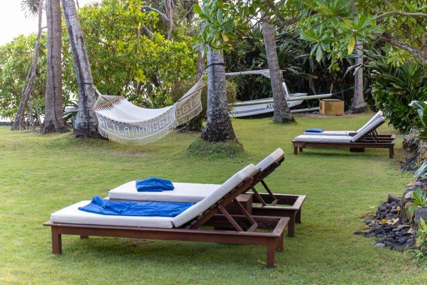 Alila Manggis Hotel Bali Liegen Haengematte