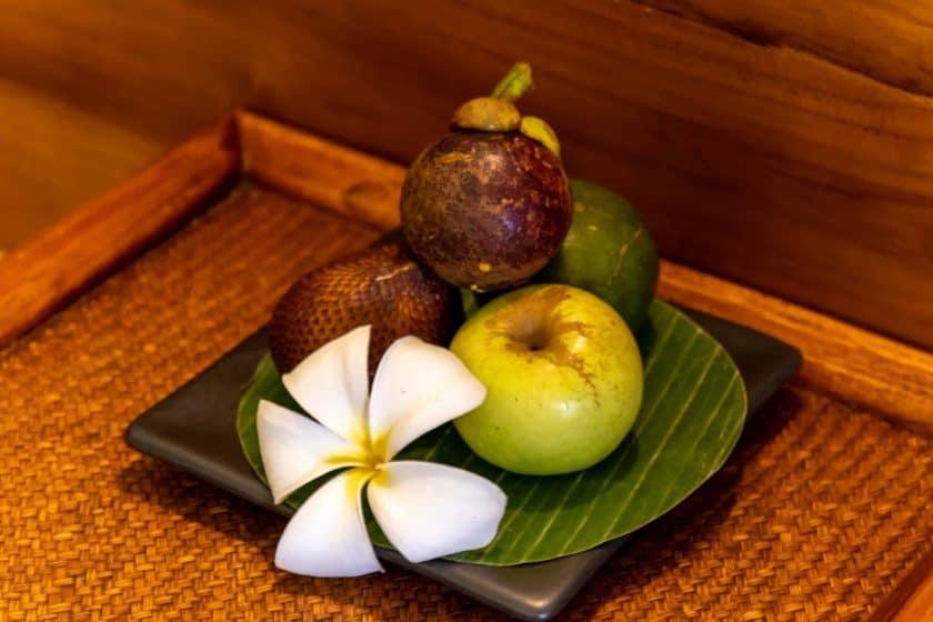 Alila Manggis Hotel Bali Willkommensgeschenk