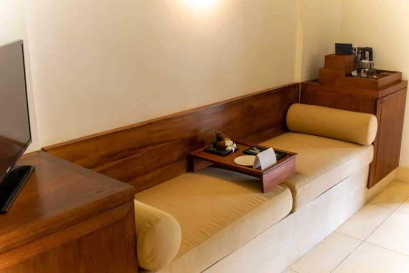 Alila Manggis Hotel Bali Zimmer Bank