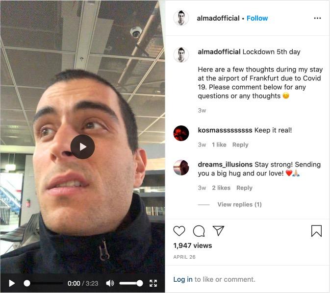 Almadaofficial Instagram