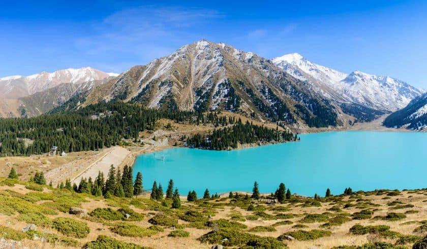 Almaty Lake Kasachstan