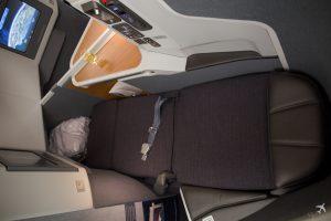 American Airlines Business Class Liegefläche