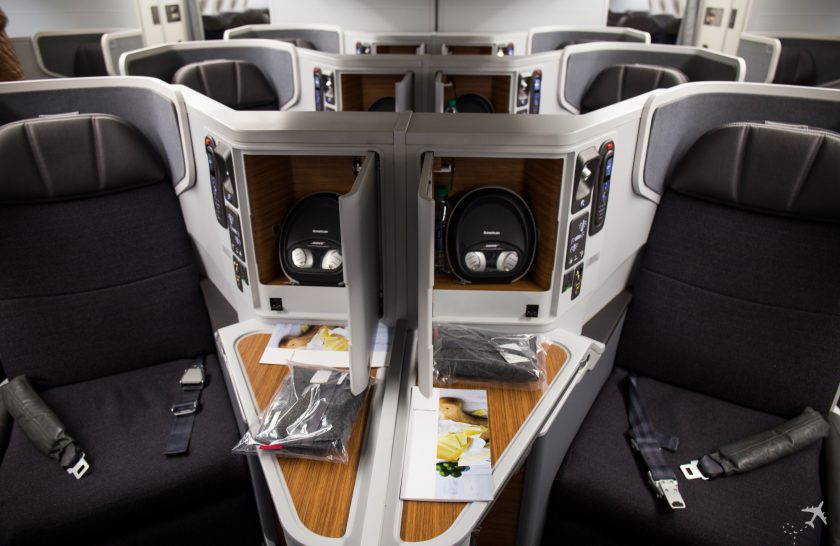 American Airlines Business Class Mittelsitze