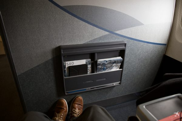 American Airlines Domestic First Class Reihe 3