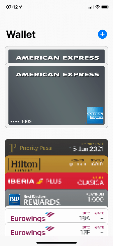 American Express Apple Pay Wallet