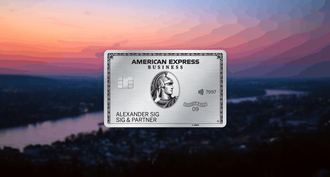 American Express Business Platinum Titelbild