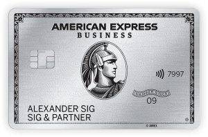 American Express Platinum Card Business