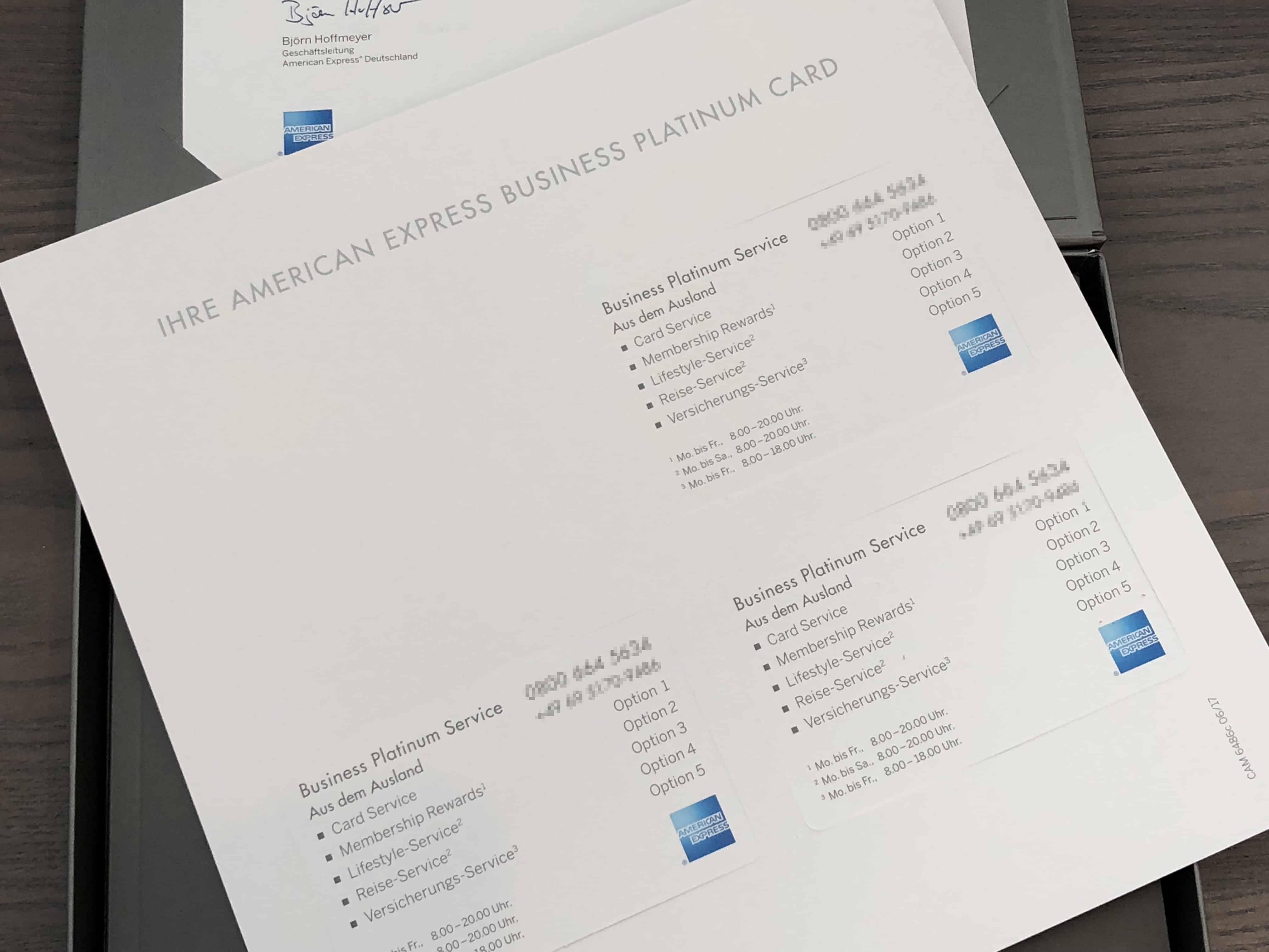 Platinum Card Service