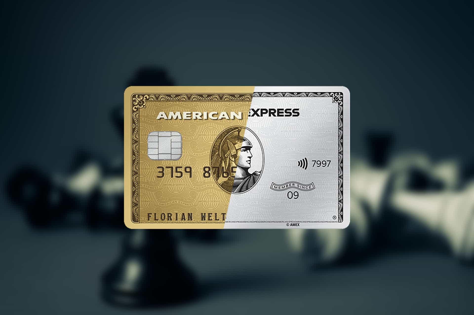 Versicherungsleistungen der Amex Gold & Platinum im Vergleich