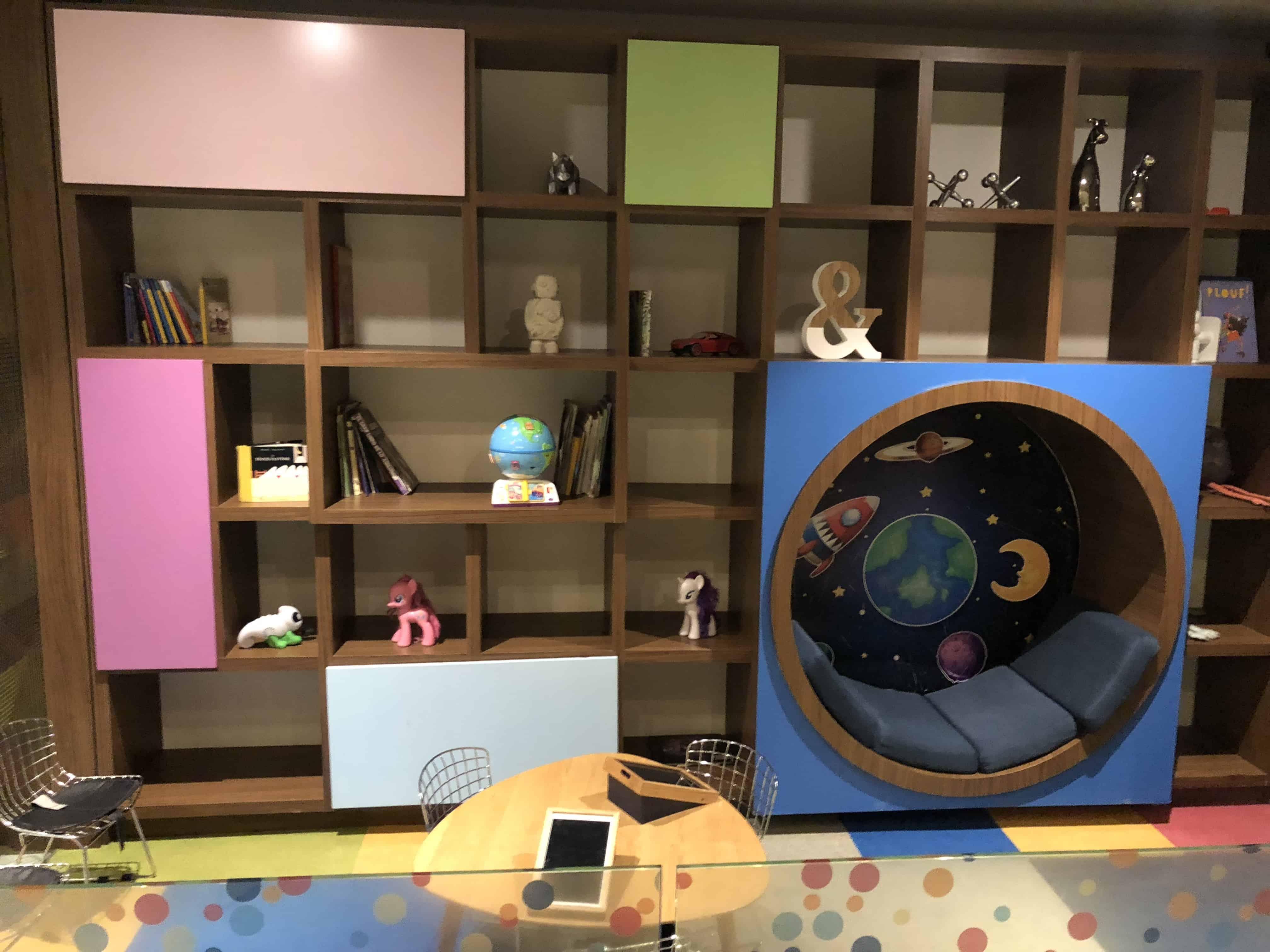 Amex Lounge MEX Kinderbereich