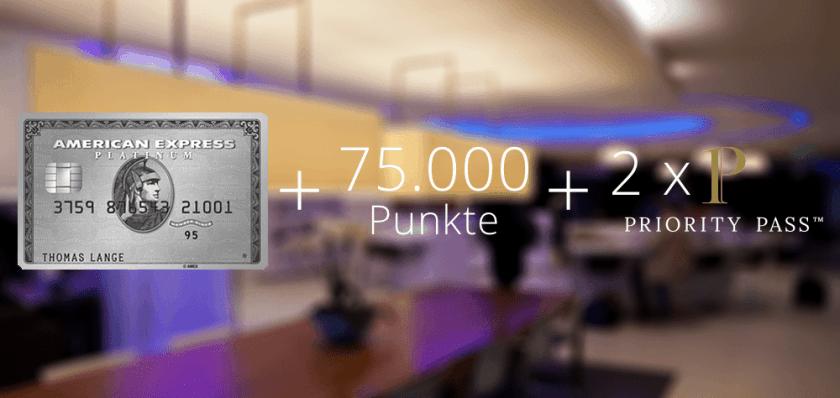 Amex Platinum 75000 Punkte