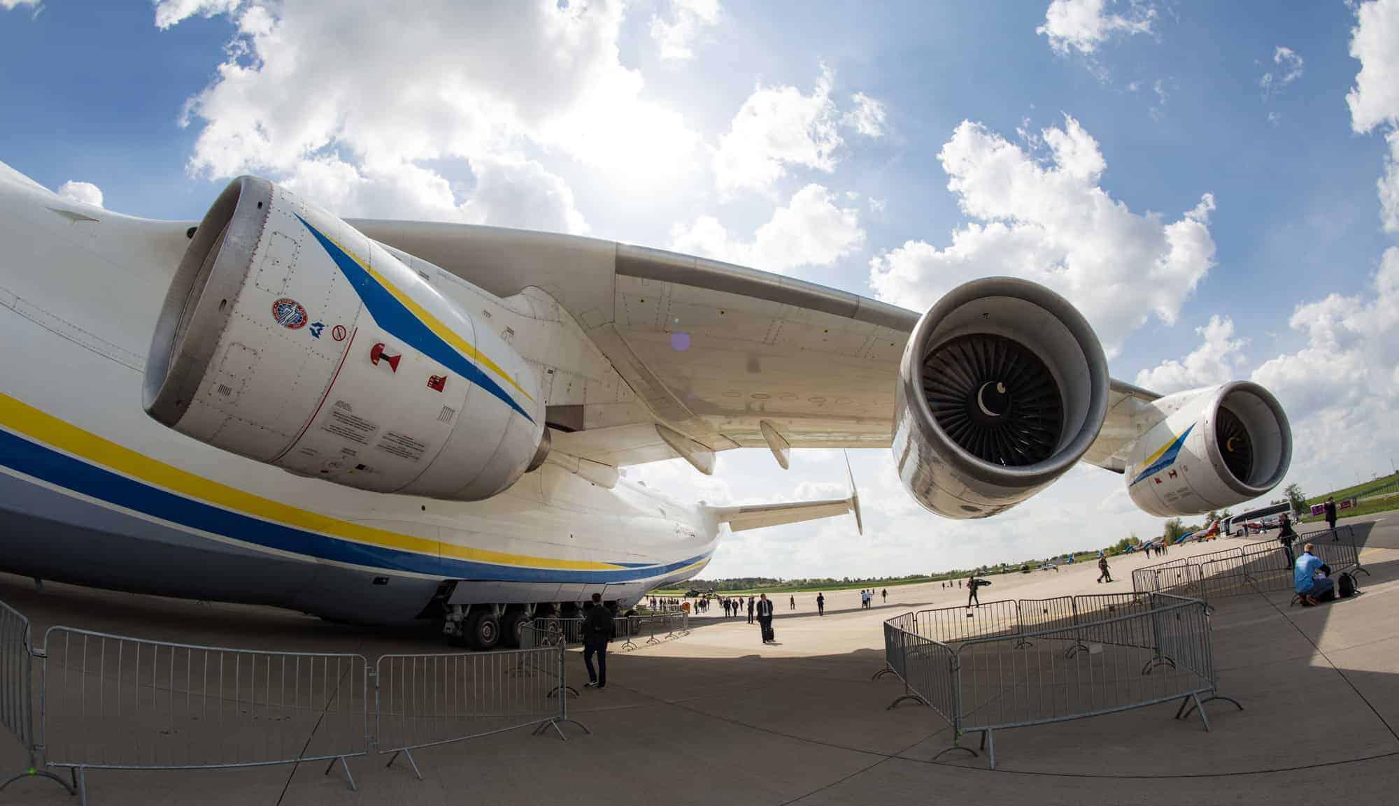 Antonov An-225-225 Triebwerke