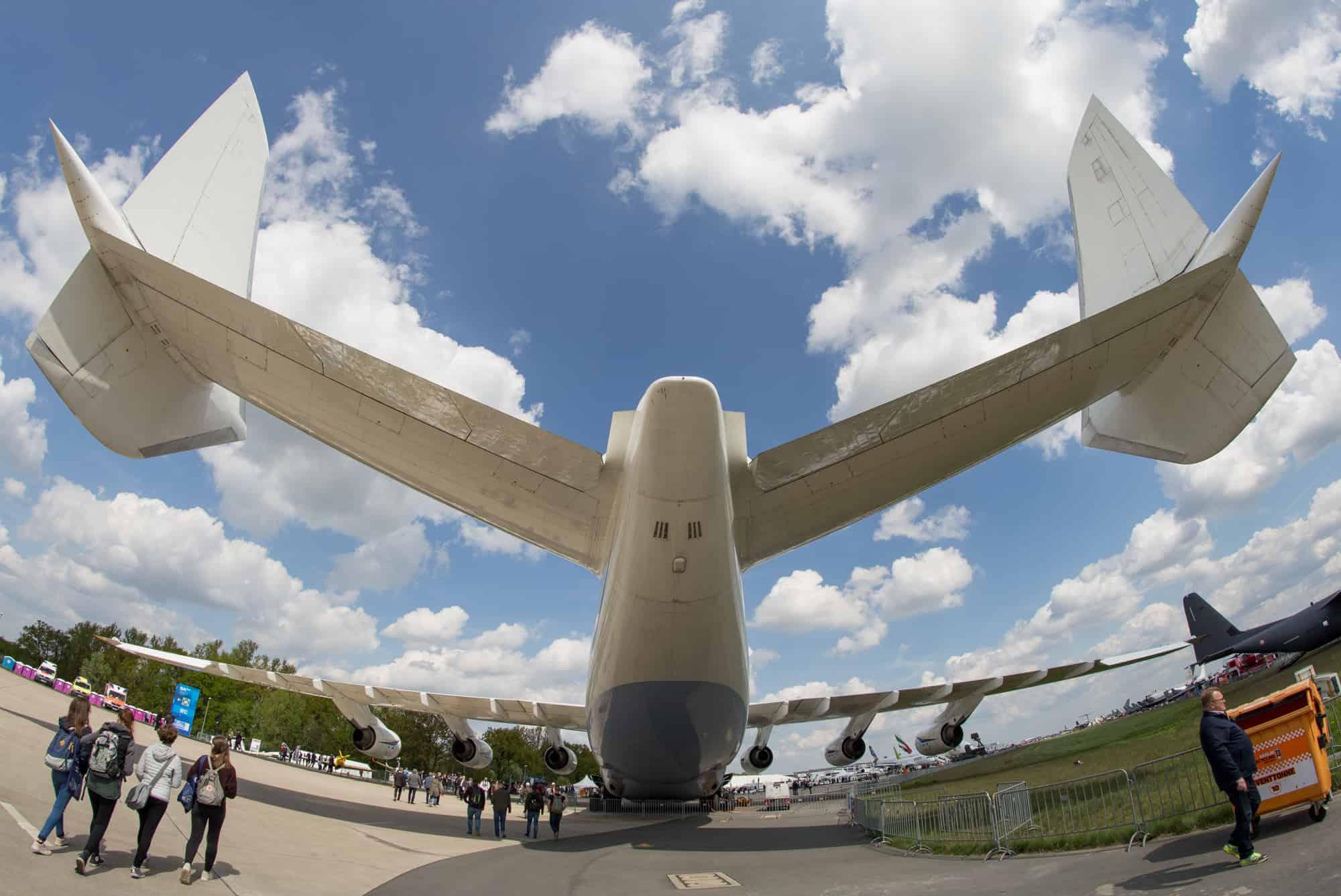 Antonov An-225-225 Höhenleitwerk