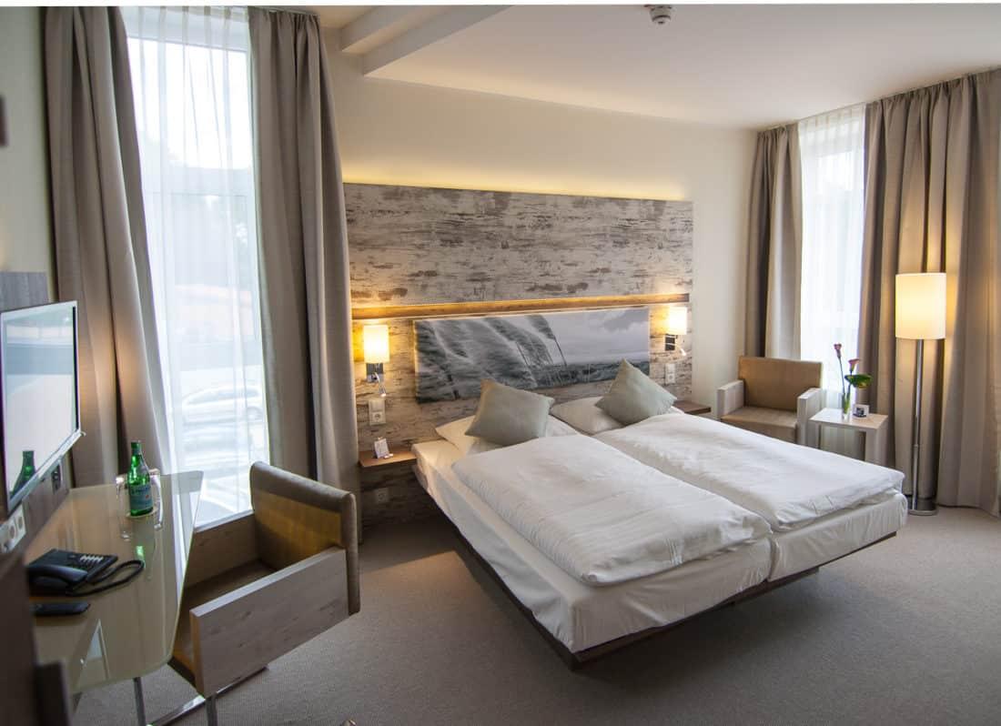 Arkadenhaus Hotelzimmer