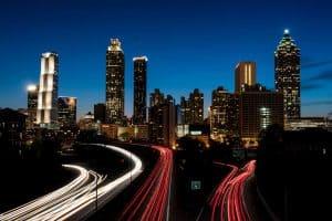 Skyline Atlanta, USA