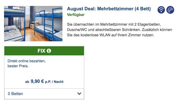 AundO Deal August