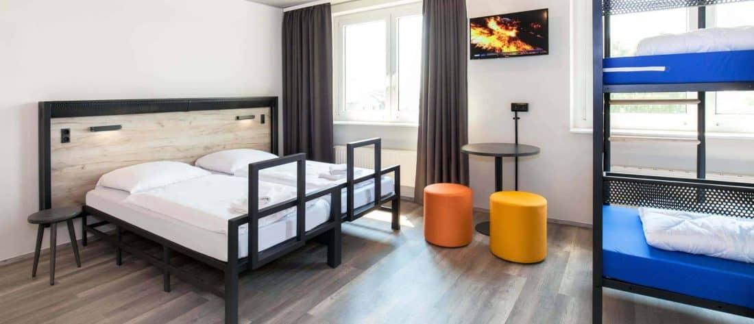 AundO Hostel Zimmer