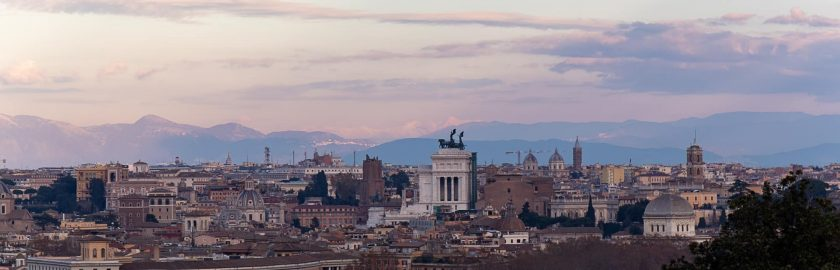 Ausblick Rom
