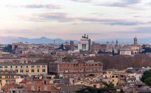 Ausblick Spanische Akademie Rom