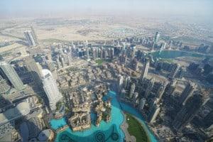 Aussicht Burj Khalifa Dubai