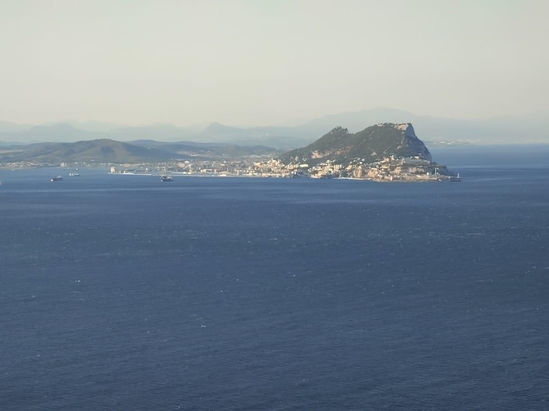 Aussicht Helikopter Gibraltar