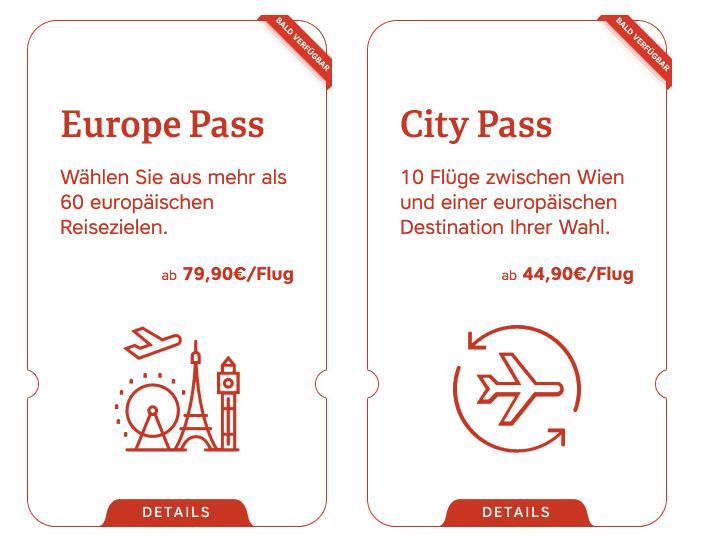 Austrian Flightpass