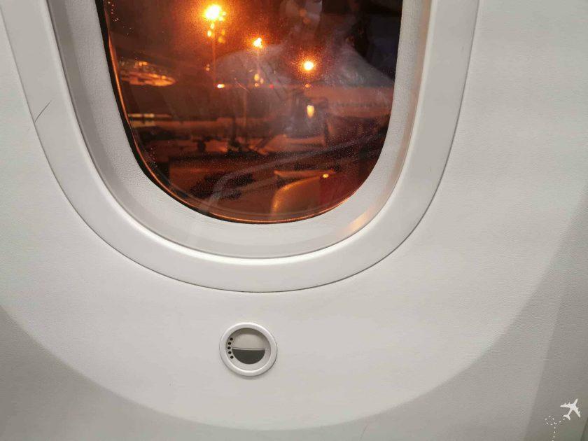 Avianca Business BOG MUC Fenster dimmen