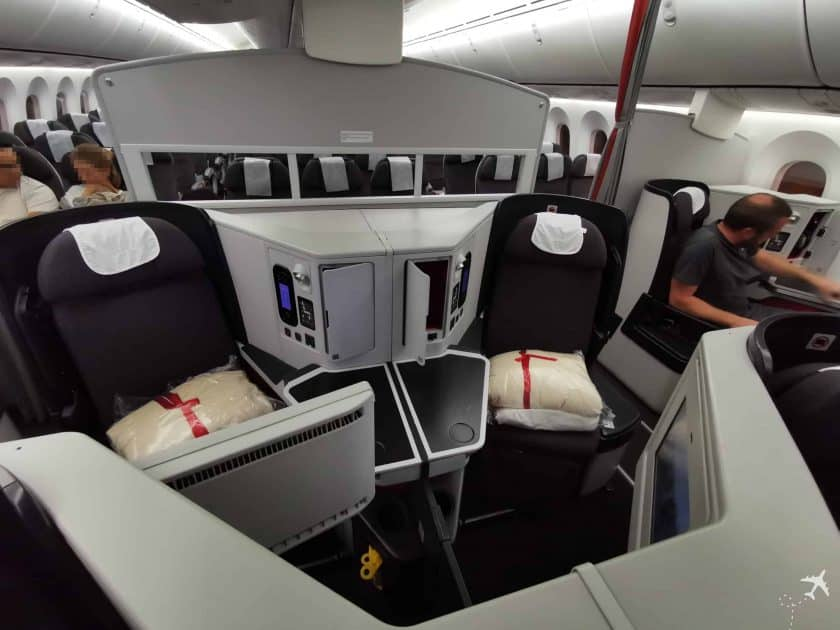 Avianca Business BOG MUC Sitze Mitte 2