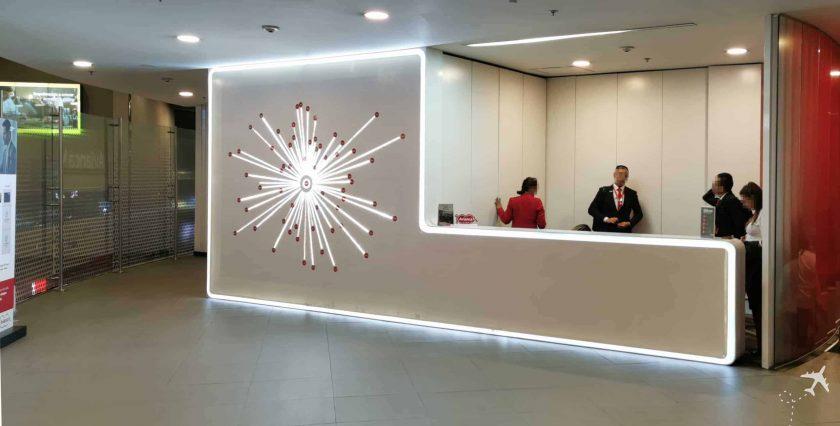 Avianca Diamond Lounge BOG Rezeption