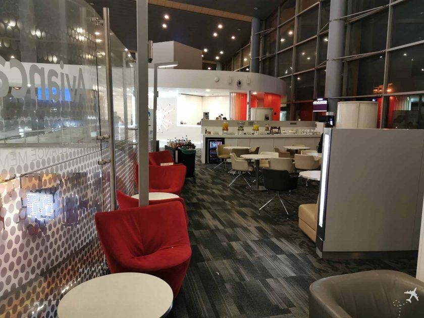 Avianca Diamond Lounge BOG Sitze