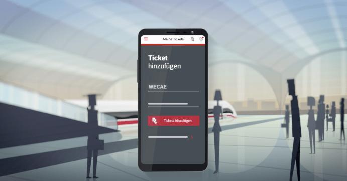 Ticketkontrolle Bahn