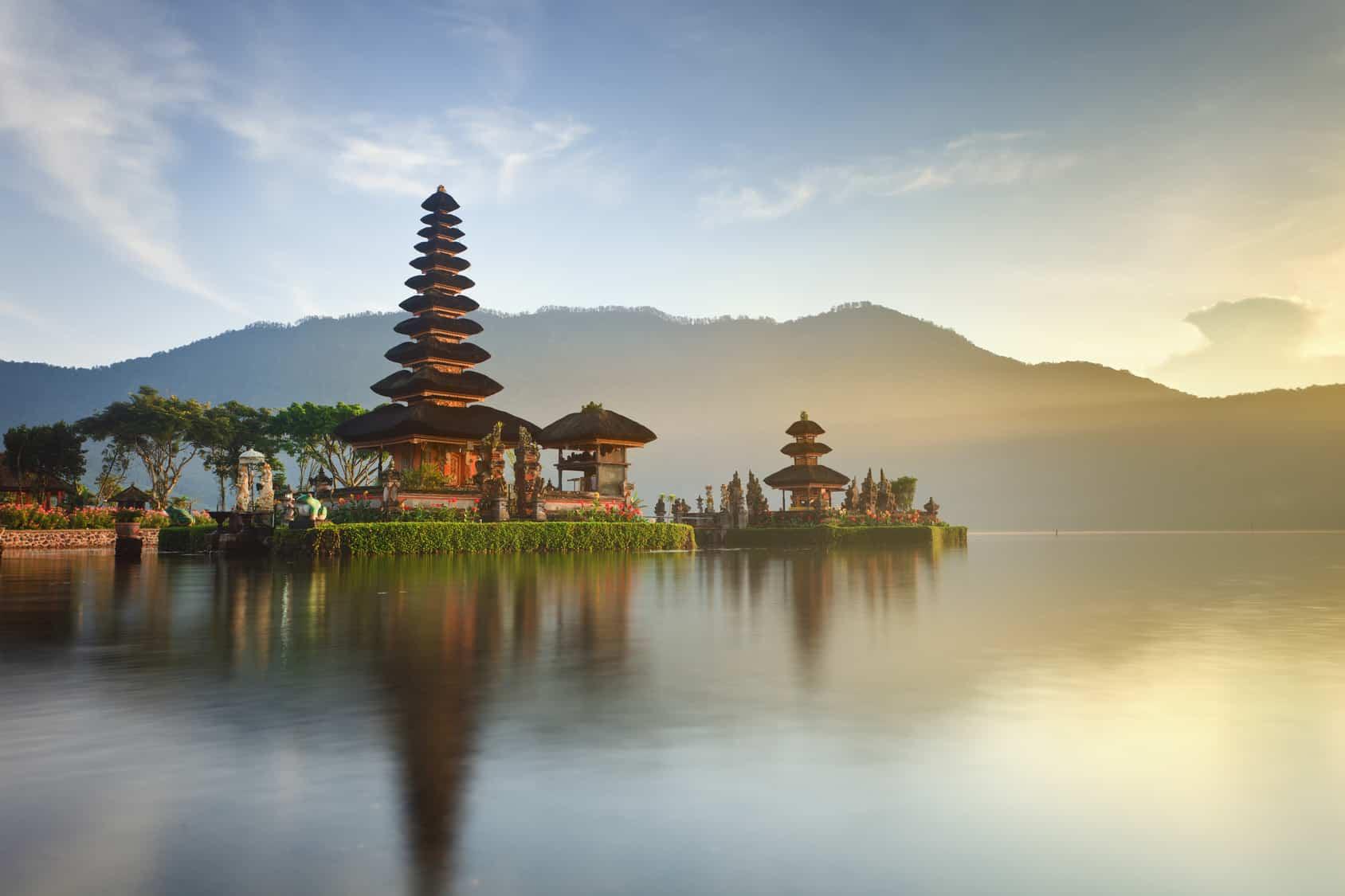 Ulun Danu Tempel, Bali, Indonesia
