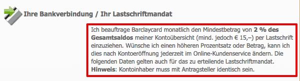 Barclaycard Eurowings Teilzahlung